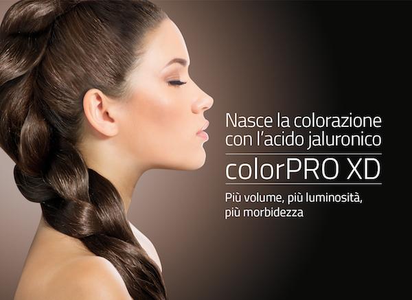 Euphìdra ColorPro XD, la colorazione permanente con Acido Jaluronico.